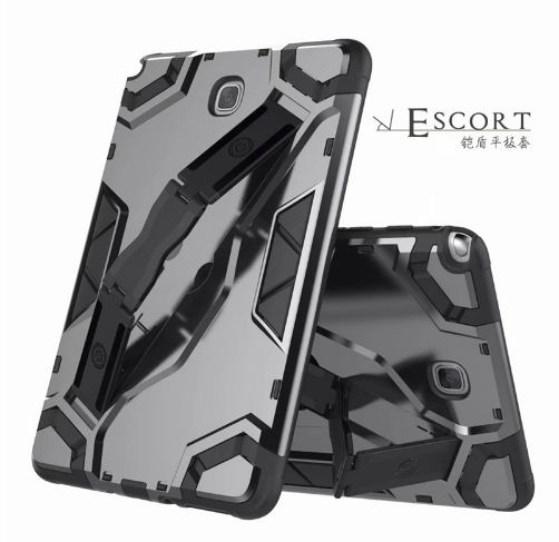 Samsung Tab A 8 inch / T350  - Escort Case - Case Shockproof -  Kickstand - Back Cover