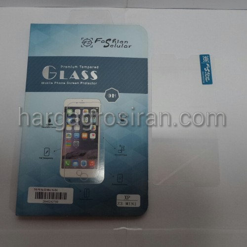 Tempered Glass FS Sony Xperia Z3 Mini / Anti Gores Kaca