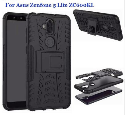 Case Asus Zenfone 5 Lite - Rugged Armor Stand / Hybrid / Dazzle Cover / Shockproof