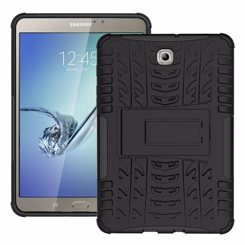 Case Samsung Tab S2 8 Inch  T715 T710 Rugged Armor Stand / Hybrid / Dazzle Cover / Shockproof